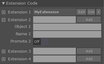 Component Editor Extensions